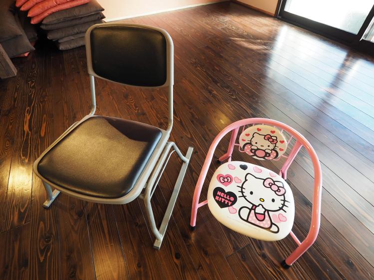 いすの貸出もございます